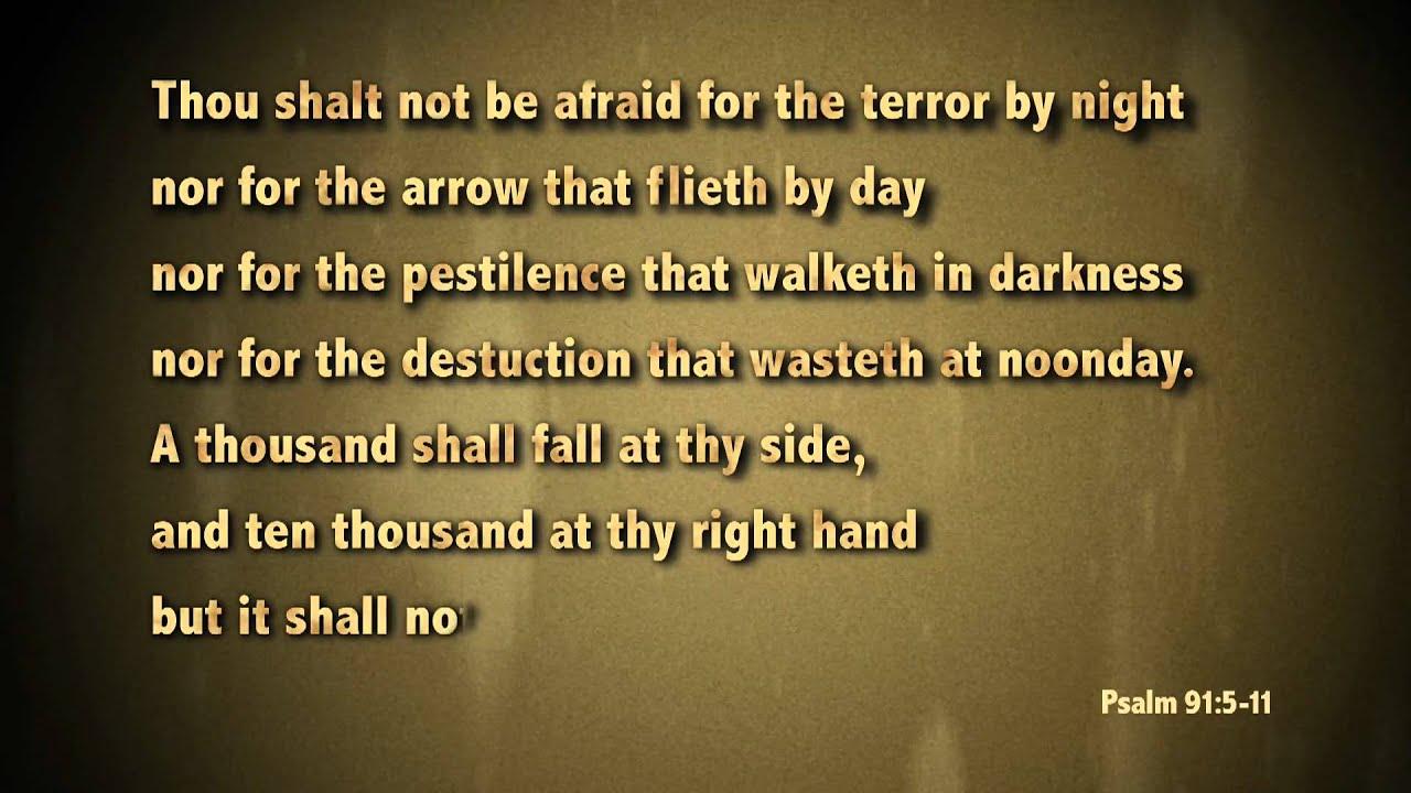 psalm 91 my favorite verses youtube