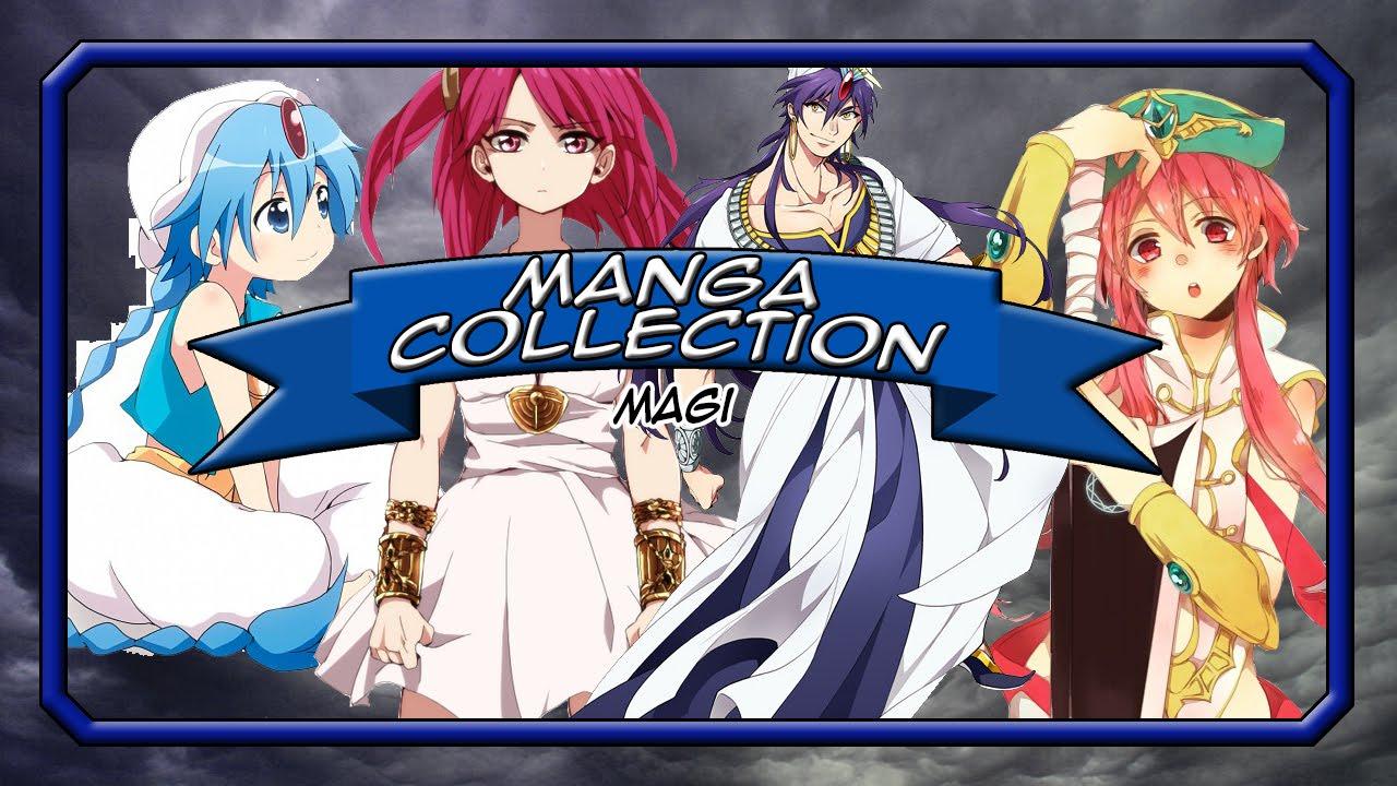 Magi The Labyrinth Of Magic Manga Collection Volumes 1 17 Youtube