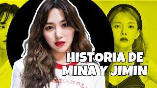 LA HISTORIA DE MINA Y JIMIN (aoa)