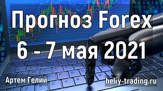 Прогноз форекс на 6 7 мая 2021
