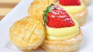 พายชั้น วิธีทำแบบอังกฤษ Puff Pastry (English Method)