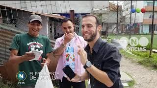 El presidente de la villa - Telefe Noticias