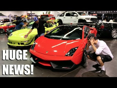 We Went To The BIGGEST Stance Car Meet + HUGE NEWS!