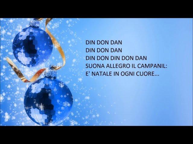 Jingle bells (versione italiana) - Canzoni natalizie con testo