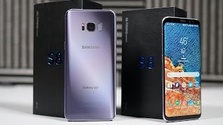 Galaxy S8 / Galaxy S8+ Unboxing! (Retail)