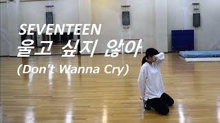 Download lagu SEVENTEEN 울고 싶지 않아 dance practice by Yu Kagawa MP3