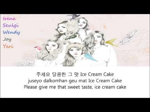 Red Velvet - Ice Cream Cake Lyrics (Han+Rom+Eng)