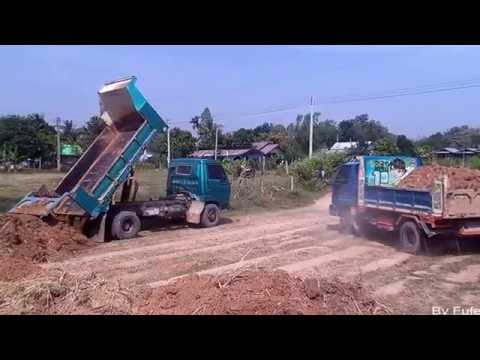 รถดั้ม 6 ล้อเทดิน รถถมดิน Trucks Thailand