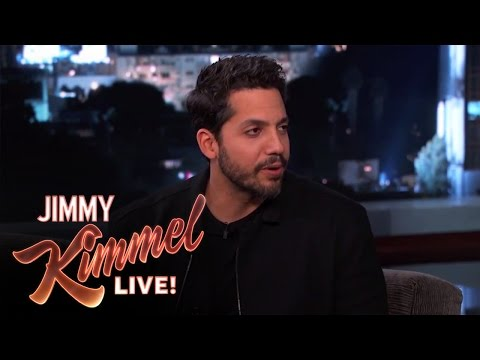 David Blaine Magic Tricks on Jimmy Kimmel Live PART 1