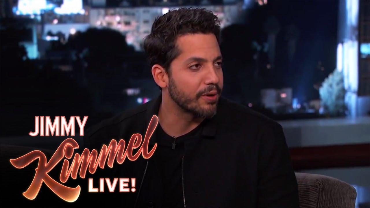 David Blaine Magic Tricks on Jimmy Kimmel Live PART 1