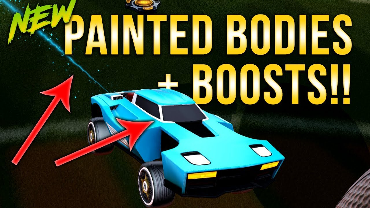 How to get painted car bodies boost trails exotic wheels from trade ups rocket league trading holo plays games