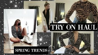 FUN SPRING TRY ON HAUL! AFFORDABLE TRENDS! | Lauren Elizabeth