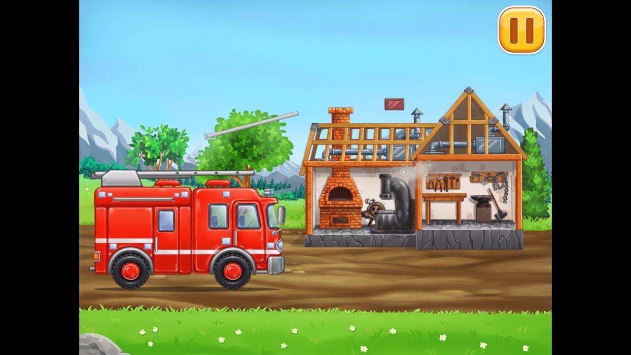 Download DEMİRHANE İNŞAA ET - Eğitici çocuk araba oyunları -  3 4 5 yaş - Build a House 13