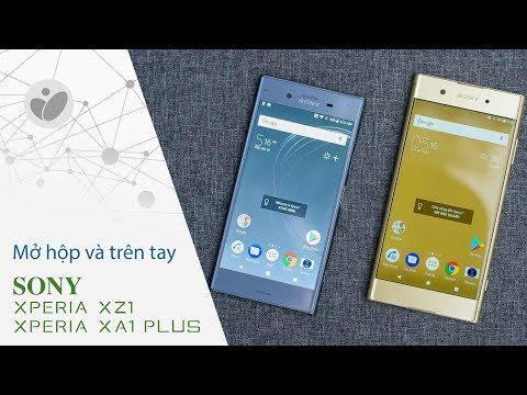 Mở hộp và trên tay nhanh Sony Xperia XZ1 và Xperia XA1 Plus: phụ kiện chưa được chất