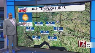 Brian Hutton Jr. 5 p.m. forecast March 5