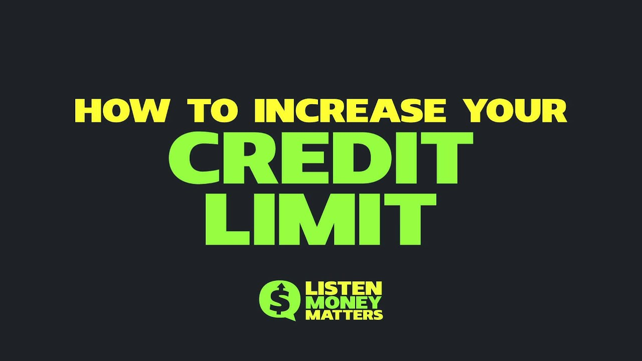 how to extend credit limit