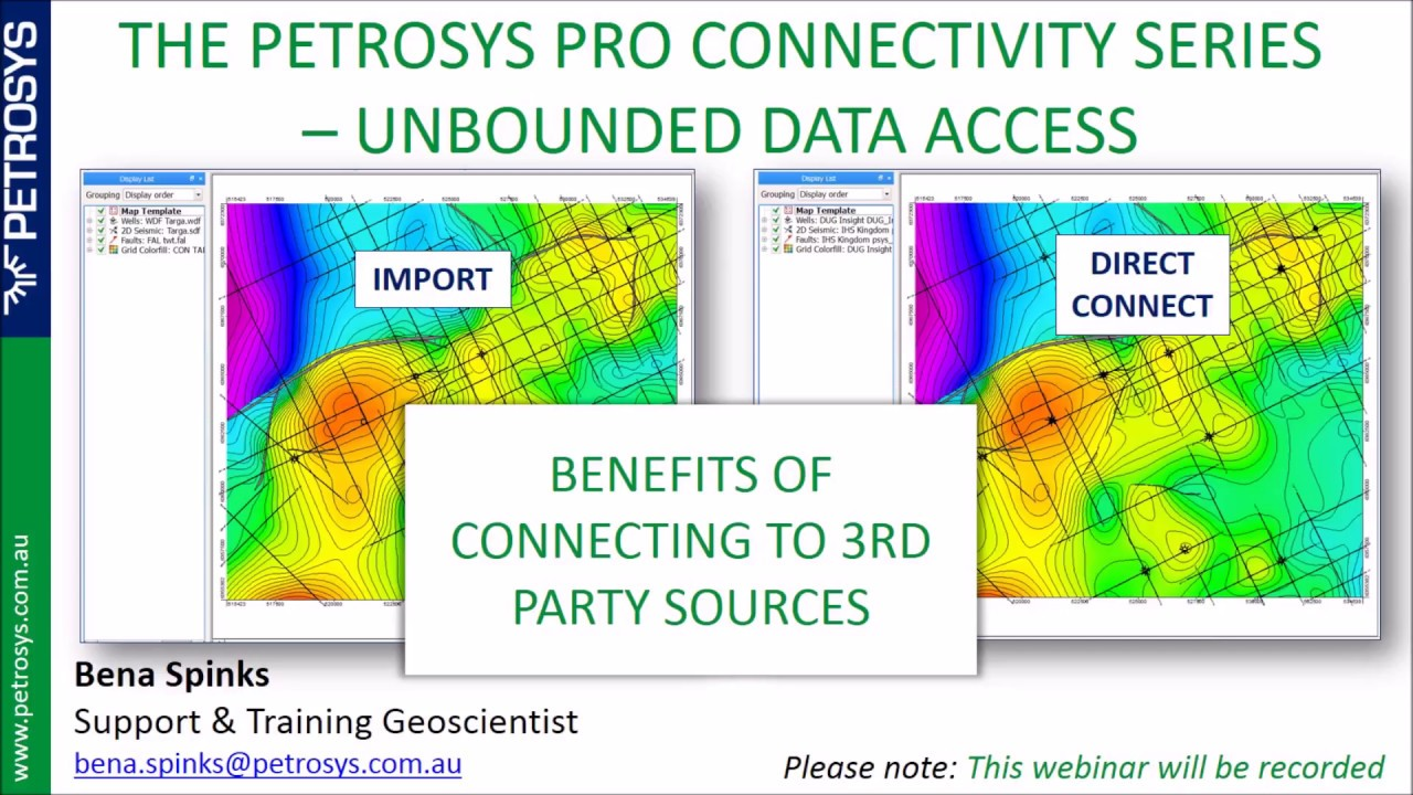 Petrosys Webinar Benefits Of 3rd Party Connections Youtube