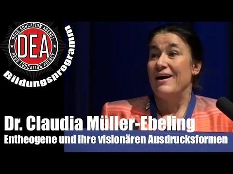 Claudia Müller-Ebeling: Entheogene und ihre visionären Ausdrucksformen