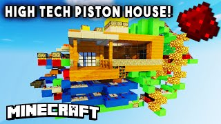 HIGH TECH PISTON HOUSE (Entire House In One Room!) - Redstone House