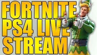 FORTNITE LIVE PS4 STREAM / PS4 & PC SOLO SNIPE LOBBY NA WEST / SEASON 7 / NEW SKIN / NEW GAMEMODE