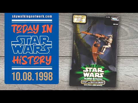 TODAY IN STAR WARS HISTORY 10/8/1998 - Kenner STAP Vehicle is released ahead of Star Wars Episode I
