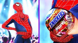 Cómo Conseguir Dulces En Halloween / Superhéroes En Halloween