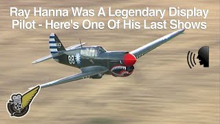 Curtiss P40-E Kittyhawk fighter (aka Warhawk) flown by Ray Hanna thumbnail
