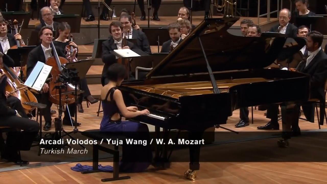 Yuja Wang - Turkish March Mozart (Encore) - YouTube