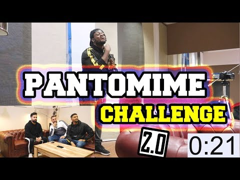 PANTOMIME CHALLENGE 2.0 !! 😱 mit JokaH Tululu | GLCEMBER ❄