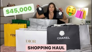 $45,000 LUXURY UNBOXING HAUL! 🛍