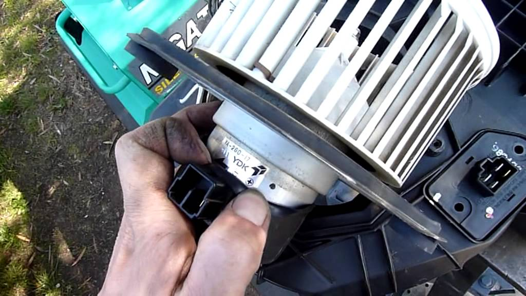 Daewoo Lanos Heater and AC Box Disassembly YouTube