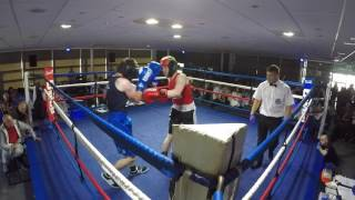 Ultra White Collar Boxing | Chester | Liam Salt VS Nick Kemp