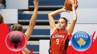Albania v Kosovo - Class. 21-22 - Full Game - FIBA U18 Women's European Championship Division B 2018