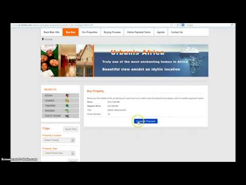 The Urbanis Africa Online Payment Demo