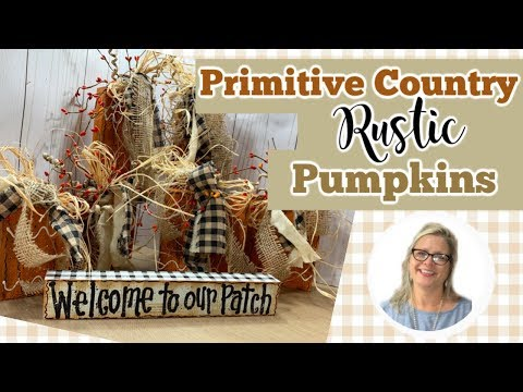 primitive-country-rustic-pumpkins-||-how-i-painted-the-sign-||-country-crafts