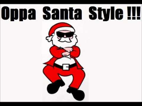 Christmas Parody.Gangnam Style Christmas Parody Santa Style