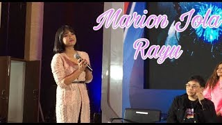 Gambar cover Marion Jola - Rayu (Live)