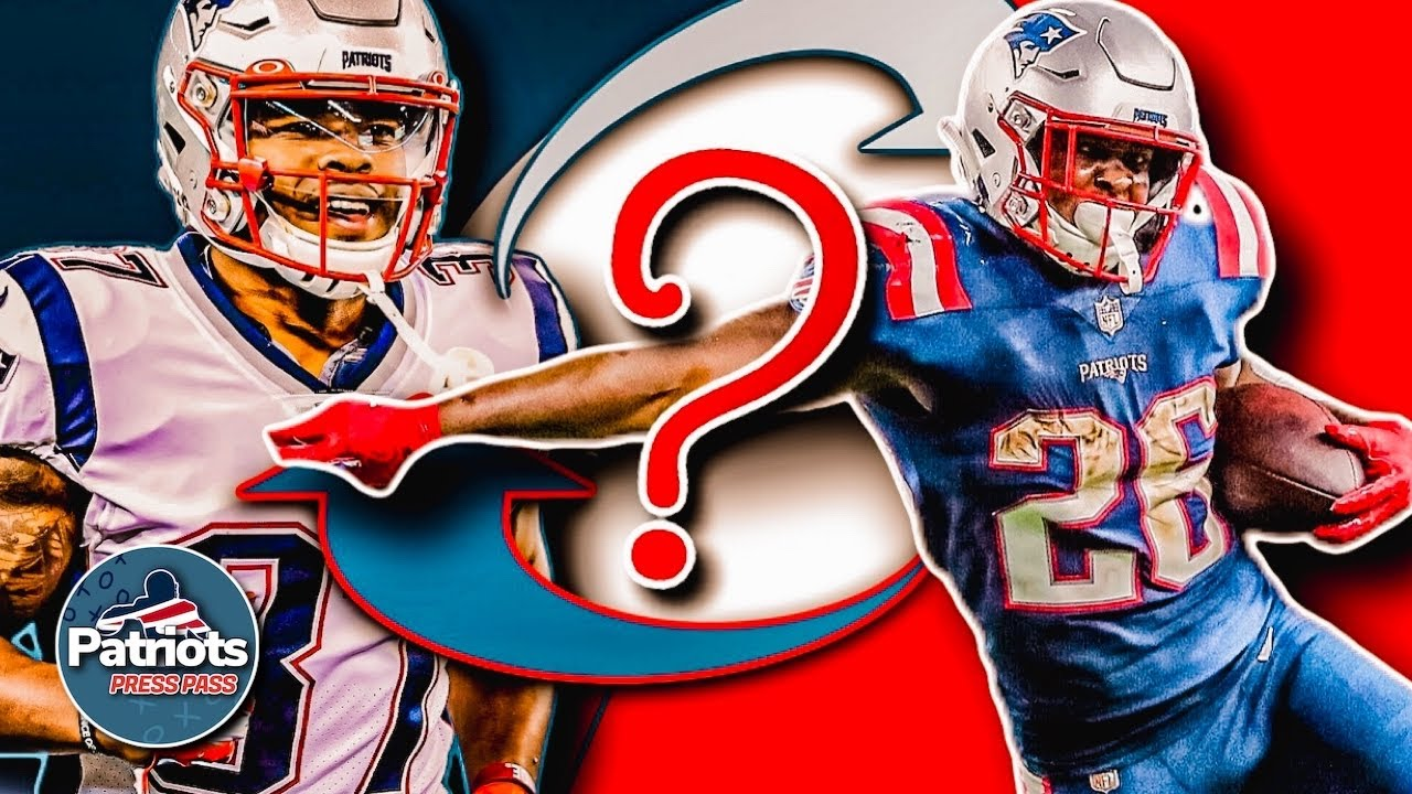 Is Damien Harris Going To Overtake Sony Michel As Patriots Lead Running Back Patriots Roundtable Youtube