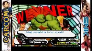 Capcom vs. SNK Millenium Fight 2000: Casual Arcade Playthrough #1