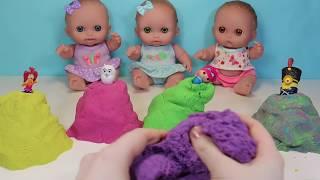Куклы Пупсики Открывают Сюрпризы Кинетический Песок Барбоскины Миньон Щенячий патруль Зырики ТВ