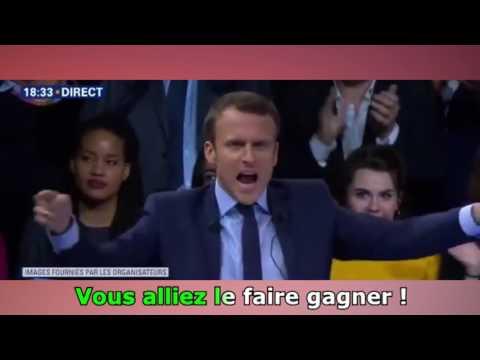 Karaoké Macron - Ce que je veux *