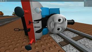 Thomas and friends down the cliff roblox toy train games