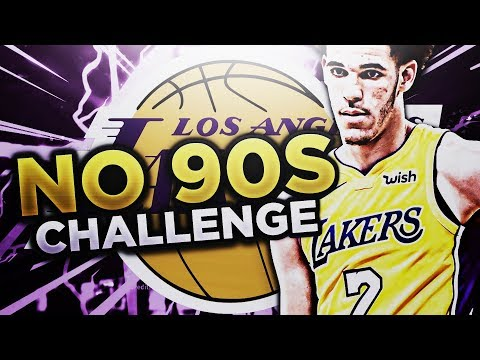 TRADING LONZO BALL!?!? NO 90+ OVERALL CHALLENGE!! NBA 2K18 MY LEAGUE