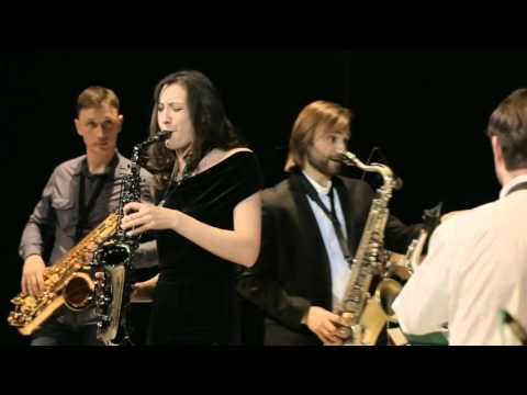 Saxophone's Festival in Cheboksary. C Jam blues