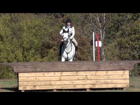 Sydney Conley Elliot & Blue Suede Shoes At Texas Rose Horse Park Fall Horse Trials 2014
