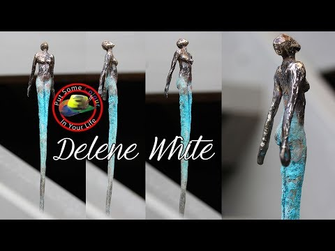 How to make sculpture art with Delene White | Colour In Your Life