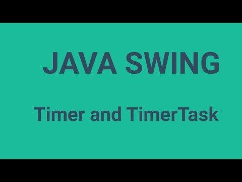 Java Timer and TimerTask