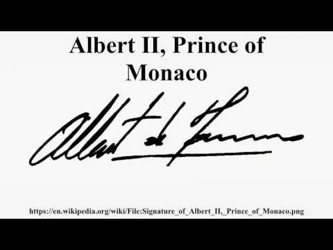 Albert II, Prince of Monaco