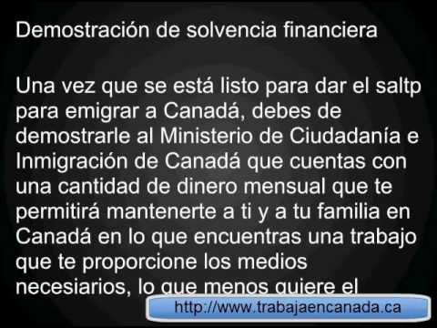 Requisitos para emigrar a Canada