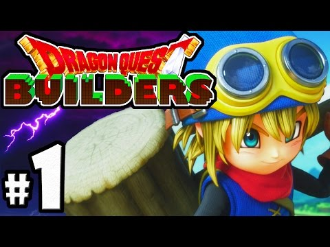 Dragon Quest Builders PART 1 - PS4 Gameplay Walkthrough - Minecraft Meets Terraria! - Cantlin Town